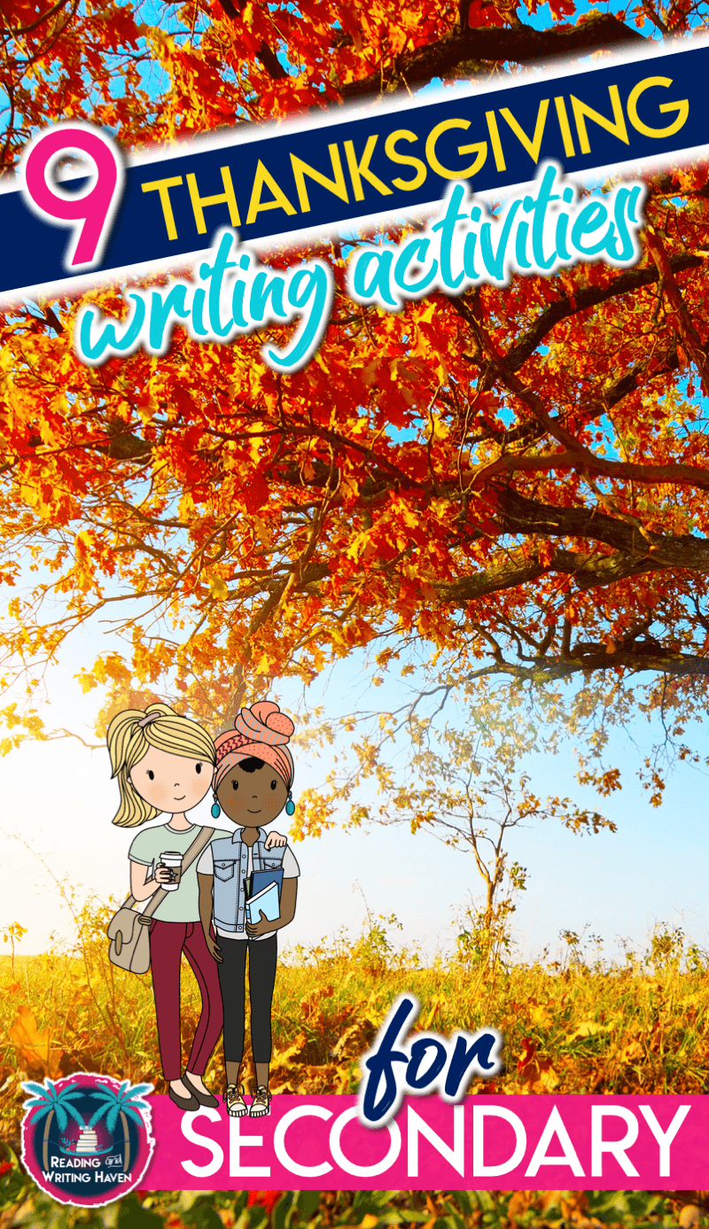 hight resolution of Simple Yet Meaningful Thanksgiving Writing Activities   Reading and Writing  Haven