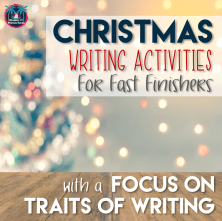 Need an emergency sub plan or fast-finisher activity, try these Christmas writing activities in your secondary ELA classroom this December.
