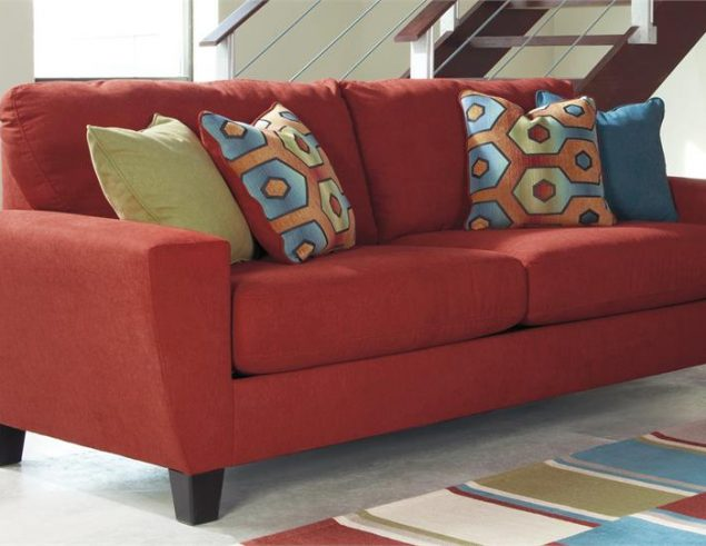 sienna sofa baja convert a couch and bed multiple colors color black 93903 ashley sagen reading center plus