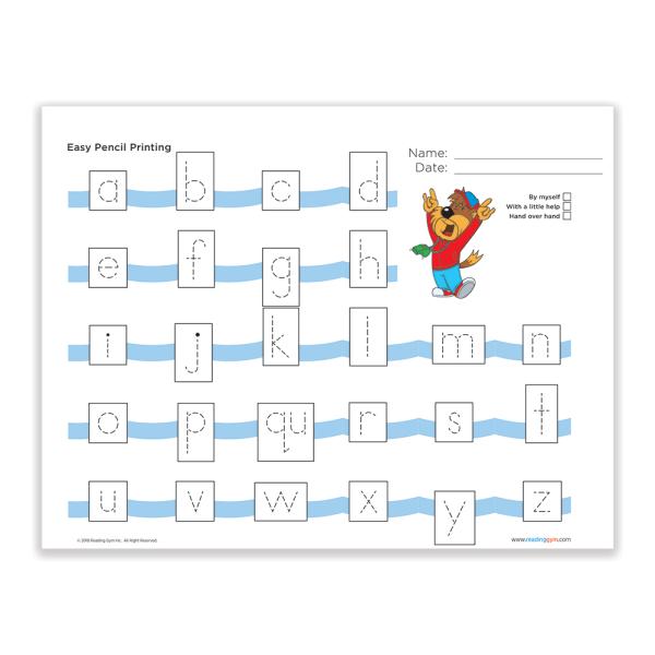 PrintingSheet EasyPencilPrinting