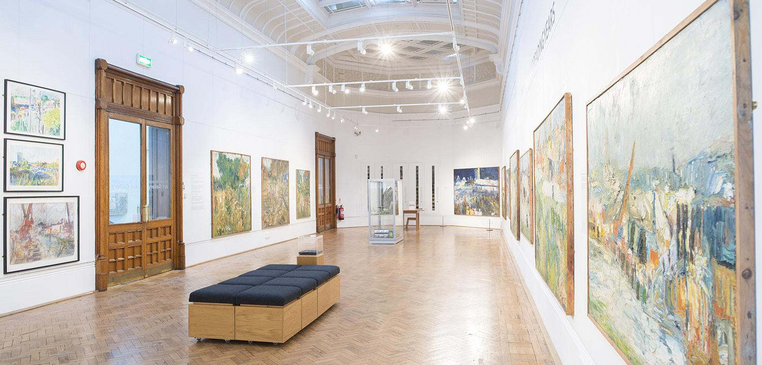 sir john madejski gallery