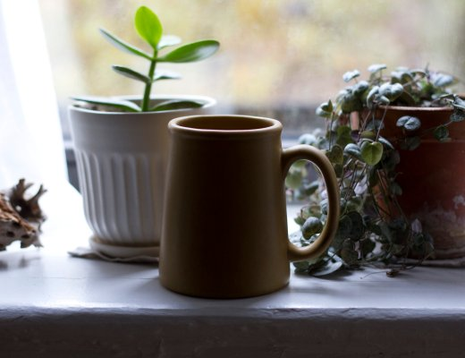 bennington potters mug