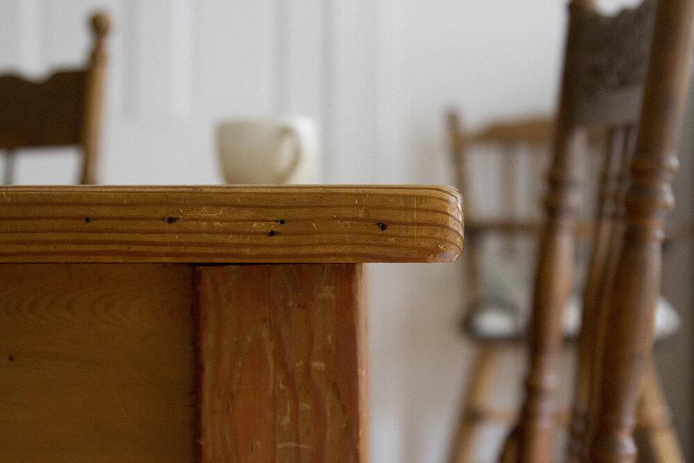 table   reading my tea leaves