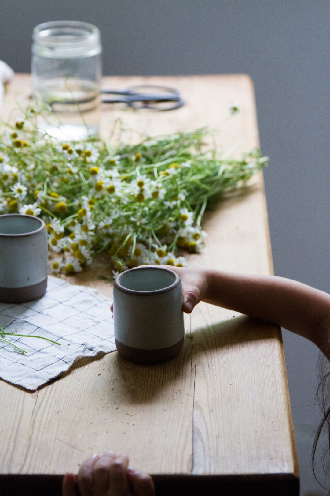 make your own chamomile tea | reading my tea leaves