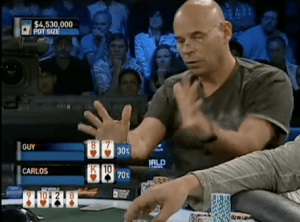 Guy Laliberte poker tell