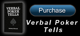 Purchase the book Verbal Poker Tells