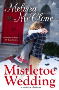 mistletoe wedding by Melissa Mcclone