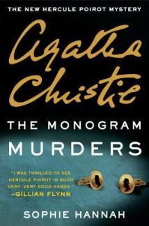 monogram murders by sophie hannah and agatha christie