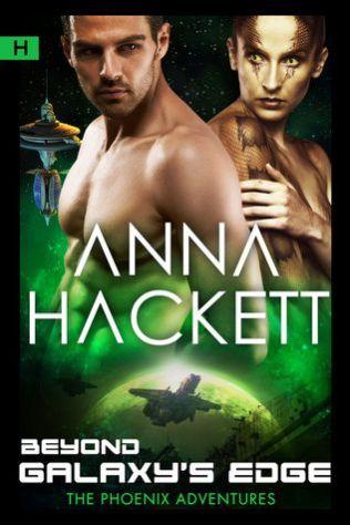 beyond galaxy's edge by anna hackett