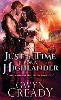 just in time for a highlander by gwyn cready