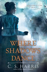 where shadows dance by cs harris