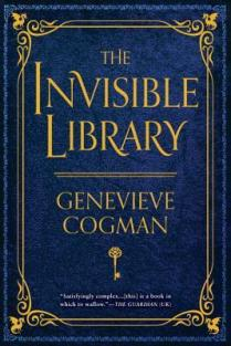 invisible library by genevieve cogman us edition