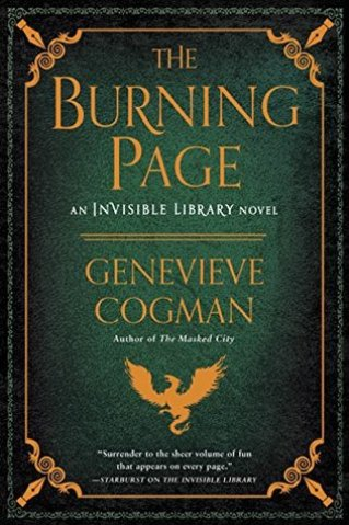 burning page by genevieve cogman