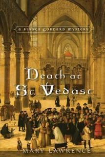death at st vedast by mary lawrence