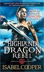 highland dragon rebel by isabel cooper