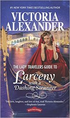 lady travelers guide to larceny with a dashing stranger by victoria alexander