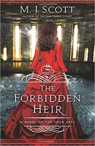 forbidden heir by m j scott