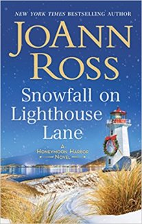 snowfall on lighthouse lane by joann ross