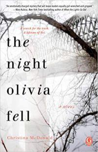 night olivia fell by christina mcdonald