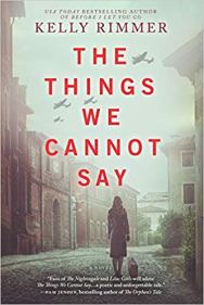 things we cannot say by kelly rimmer