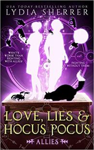 love lies and hocus pocus allies by lydia sherrer