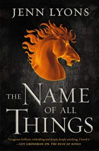 name of all things by jenn lyons