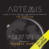 artemis by andy weir audio