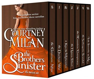 brothers sinister box set by courtney milan