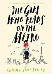 girl who reads on the metro by christine feret fleury