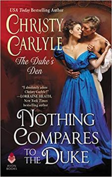 nothing compares to the duke by christy carlyle