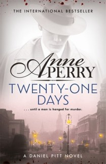 twenty one days by anne perry uk cover