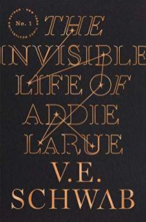 invisible life of addie larue by ve schwab