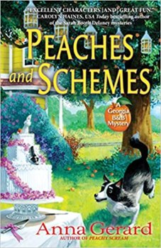 peaches and schemes by anna gerard