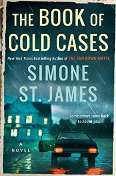 book of cold cases by simone st james