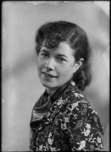 Christina Foyle, by Bassano, whole-plate glass negative, 7 December 1936 (NPG)