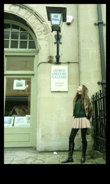 Looking for more books in Bath, at a vintage bookshop