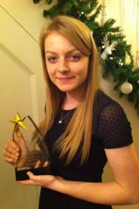 Abbie Dentus - Junior Female Sports Personality of the Year 2013