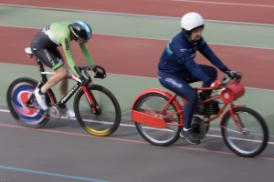 Alistair Rutherford was paced to victory with perfection by Pip Taylor