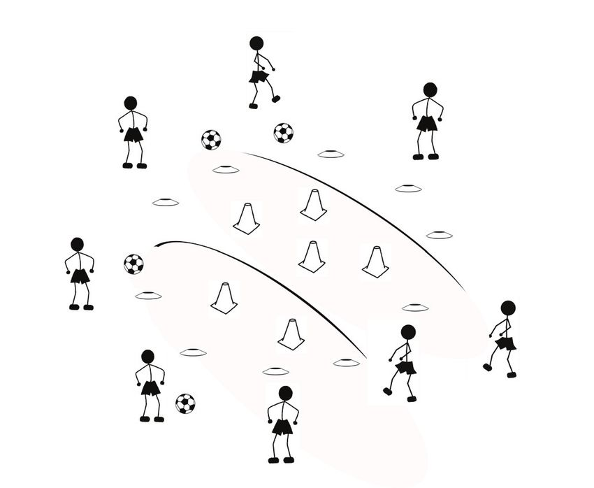 Fun Soccer Drills that Teach Soccer Skills to 5, 6, and 7