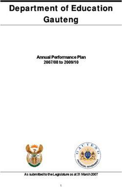 Department of Education Gauteng