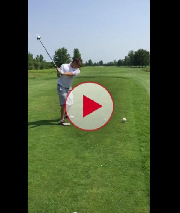 Golfer Kills Seagull with drive shot.