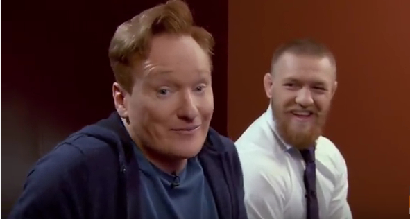Conan O'Brien VS Conor McGregor