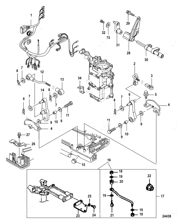 Mercury/Mariner 25 Jet EFI 3 Cyl. 4-Stroke, Accessories