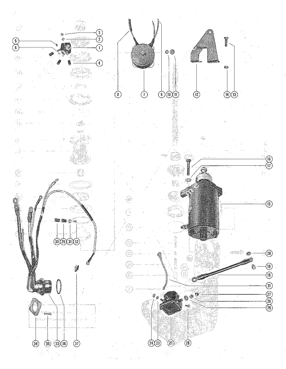 31 Mercury Outboard Starter Solenoid Wiring Diagram