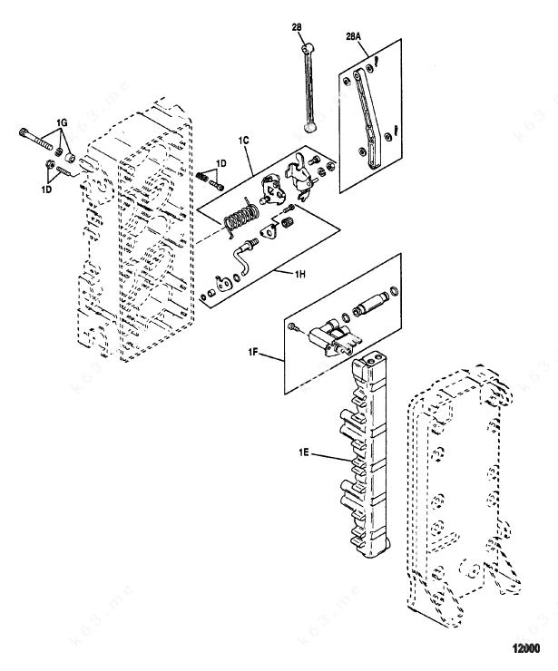 Mercury/Mariner V-175xri EFI, Fuel Management System