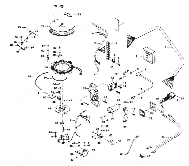 Chrysler 45 1984, Alternator and Electrical Components