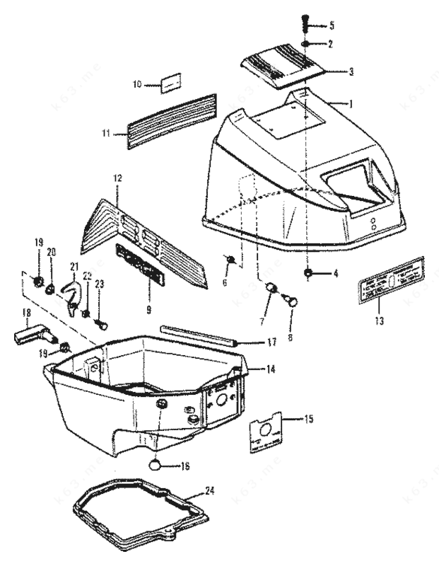 1984 Mercury Outboard Motor Diagram