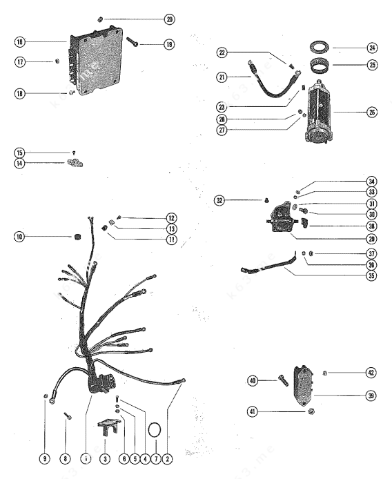 1979 40 Hp Mercury Outboard Wiring Diagram ~ Wiring