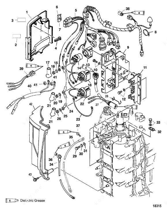 Mercury/Mariner 75 4-Stroke Bodensee, Electrical