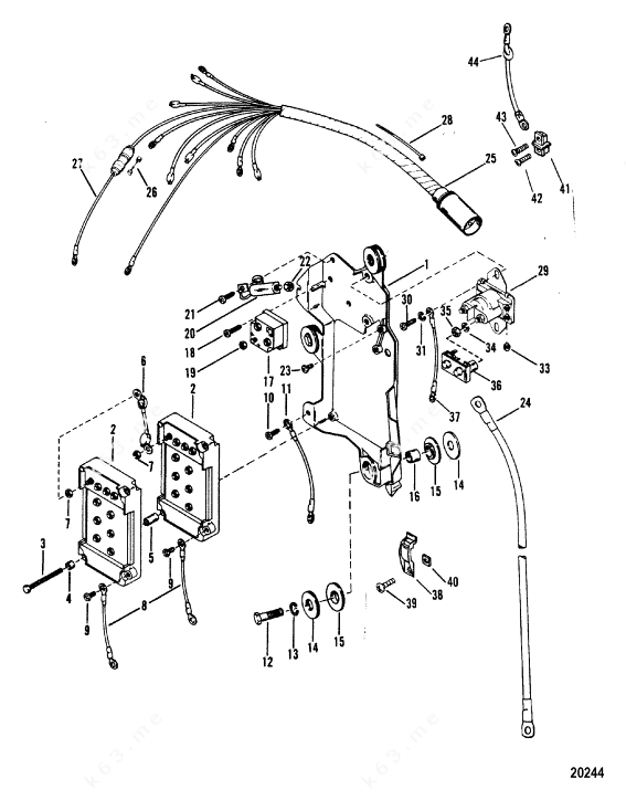 mariner wiring diagram
